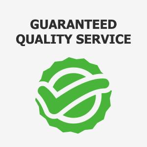Guaranteed Quality Service